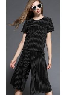 GSS7145 top+pants black