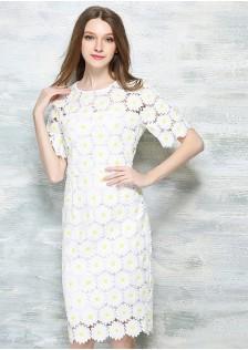 JNS6537 office-dress white