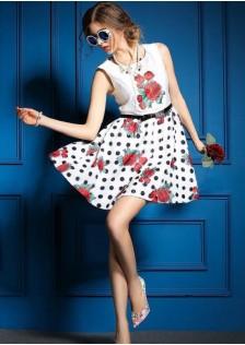KHG7150 dress white
