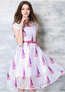 JNS6548 office-dress