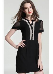 JNS8831 office-dress black