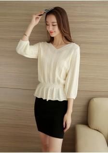 HYB978 Sweater red,black,creamy,gray,pink $14.80 48XXXX2937587-LA6LV605-A