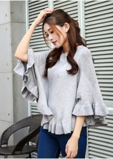 HYB5655 Sweater gray,yellow,white,purple $12.00 35XXXX3204027-NU6LV621-E