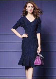 HYB9196 Office-Dress