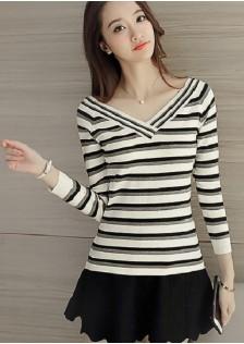 HYB8810 Casual-Top white,black,red $9.80 25XXXX3237575-SD1LVBF-03B