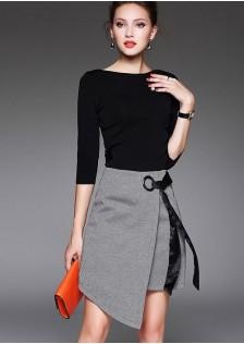 HYB8368 Office-Top+Skirt