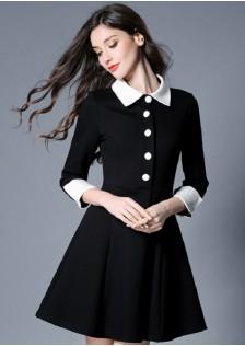 HYB3780 Office-Dress black $14.80 48XXXX3211585-LA1LV132-E