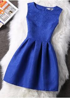 HYB6300 Casual-Dress blue