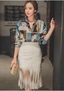 HYB8787-1 Evening-Skirt