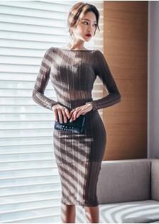 HYB8847 Evening-Dress