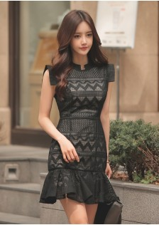 HYB8595 Office-Dress