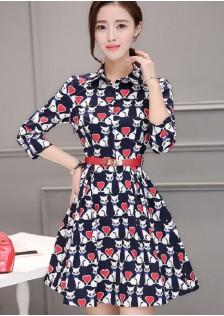 HYB8158 Office-Dress