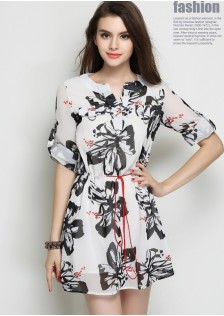 HYB9113 Casual-Dress