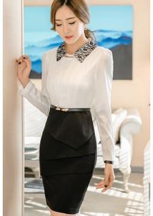 GSS8026 Office-Dress long-sleeve
