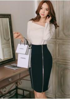 GSS387 Office-Top+Skirt