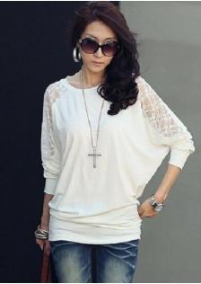 GSS8018 Casual-Blouse white,black $11.39 14XXXX2969504-HL2LVB30
