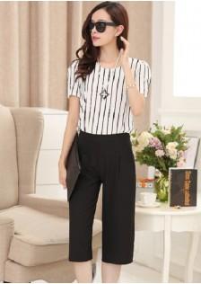 GSS539 Casual-Top+Pants white $17.25 40XXXX210599-LA1LVE47-D