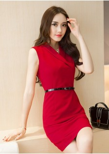 GSS5826 Office-Dress red,black $19.92 52XXXX1661335-SD5LV523-A