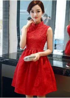 GSS1010 Office-Dress red,white,black $20.59 55XXXX3653991-RU1LV117-B