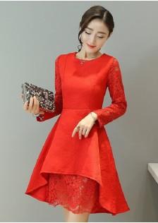 GSS1079 Office-Dress red,white,black $21.03 57XXXX3653759-RU1LV117-B