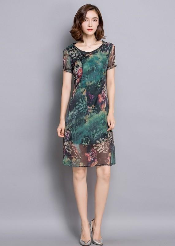 GSS5327 Casual-Dress green $15.03 30XXXX2391377-LA2LVA15-A
