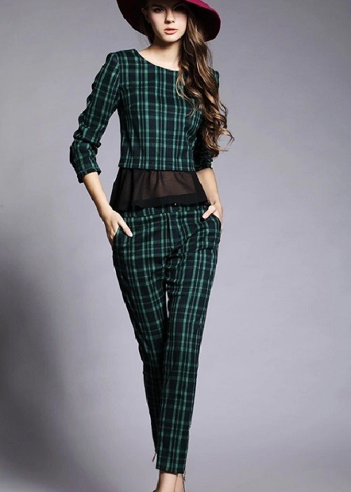 GSS022 Casual-Top+Pants