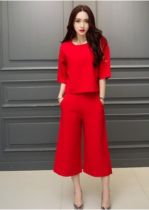 GSS625 Casual-Top+Pants