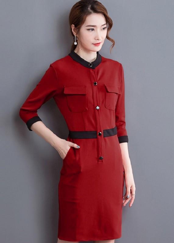 GSS8901 Office-Dress red,black $21.70 60XXXX3073340-LA2LVA17-D