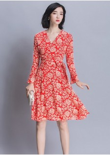 GSS1704 Office-Dress orange $21.25 58XXXX3870225-BT2LV250-C