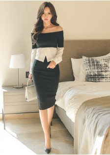 GSS3145 Office-Top+Skirt