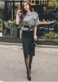 GSS218895 Office-Top+Skirt
