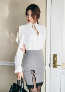 GSS3167 Office-Top+Skirt