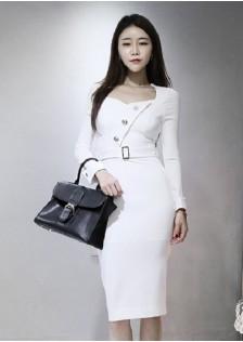 GSS3165 Office-Dress white,black $22.81 65XXXX3659081-LA2LVC17-A