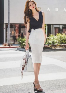 GSS7308 Office-Top+Skirt