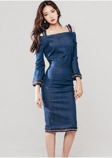 GSS218879 Office-Denim-Dress