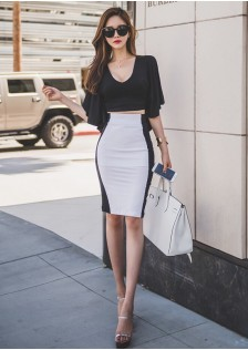 GSS218817 Office-Top+Skirt