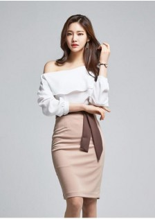 GSS218878 Office-Top+Skirt white $23.70 69XXXX3357928-TH1LVA26