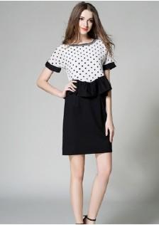 GSS069 Office-Dress white,black $22.81 65XXXX2540772-NU4LV459-D