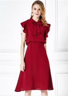 GSS17009 Office-Dress red,blue $22.81 65XXXX3953673-HL1LVA2
