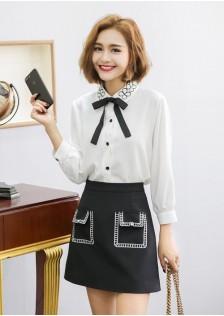 GSS0703 Office-Top+Skirt