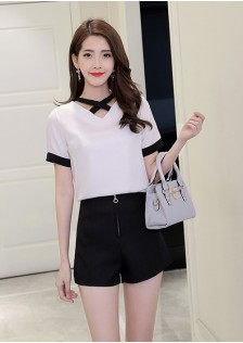 GSS1020 Casual-Top+Shorts