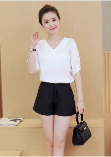 GSS9800 Casual-Top+Shorts