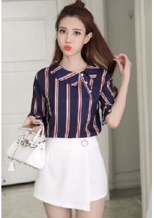 GSS8251 Casual-Top+Shorts