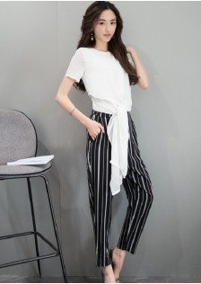 GSS6668 Casual-Top+Pants
