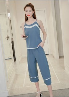 GSS8837 Casual-Top+Pants