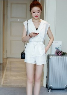 GSS9833 Casual-Top+Shorts