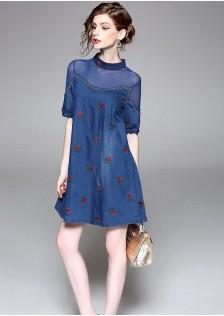 GSS8199 Office-Denim-Dress
