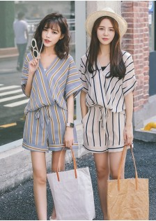 GSS6703 Casual-Top+Shorts