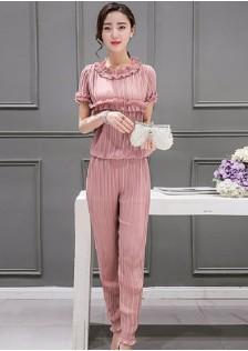 GSS6656 Casual-Top+Pants