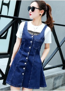 GSS834 Casual-Denim-Overall